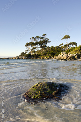 Bay of Fires late light landscape, Tasmania, Australia