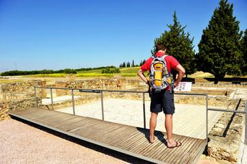 Visita a las ruinas romanas de Itálica