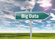 "Signpost ""Big Data"""