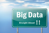 "Highway Signpost ""Big Data"""