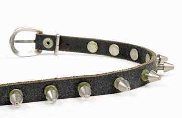 vintage Nietenhalsband offen