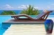bain de soleil en duo sur ponton immergé