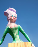 Fallas fest figures on Valencia province