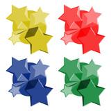 Imaginative color stars poster