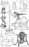 Various physical devices for the experiments and tests poster