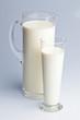 Milchkrug. Gesunde Ernährung