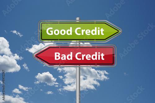 Good credit or bad credit?