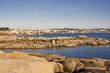Illa de Arousa entre rocas