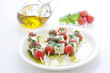 mozzarella and tomato skewer
