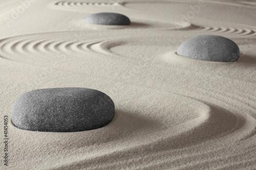 Leinwandbilder,garten,zen,sand,steine