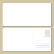 Blank Postcard Front & Back