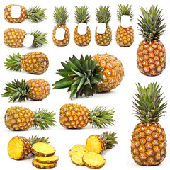 pineapple from all sides
