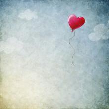 Balon Serce