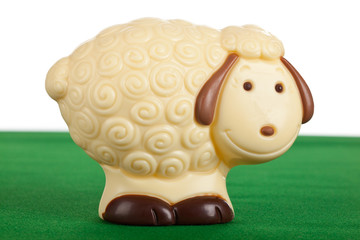 Pecorella di cioccolato