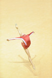 rhythmic gymnast jump poster