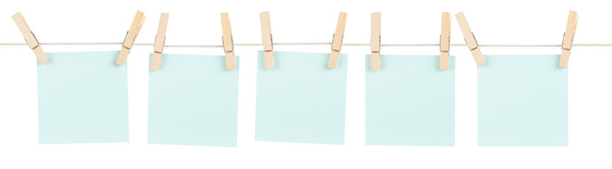 Blue Pinned Notes