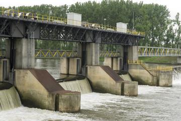 dam in a river