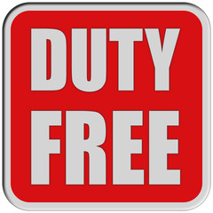 Sticker rot quad rel DUTY FREE