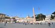 Piazza del Popolo, Rome (Italy)