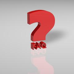 FAQ Fragezeichen