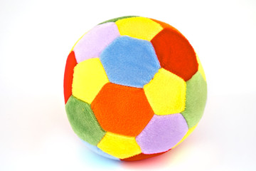 soft colorful patch ball for kids or babies room