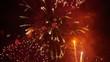 HD - Beautiful fireworks