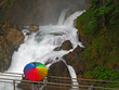 erholung am wasserfall