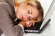 Stress und Übermüdung im Büro