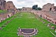 Roma, rovine del Monte Palatino - palazzi imperiali