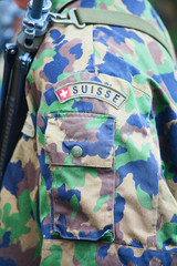 swiss army uniform
