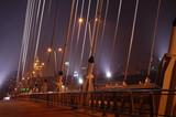 Fototapeta Fototapety mosty linowy / wiszący - Most Świętokrzyski w Warszawie © jacek68