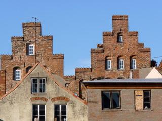 Treppengiebel in Lübeck