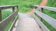 Holzbrücke im Schwarzwald