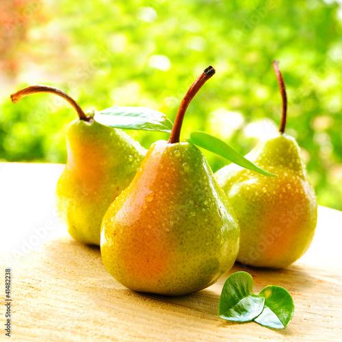 Saftige Birnen