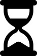 Vector hourglass icon isolated