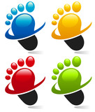 Swoosh Foot Icons