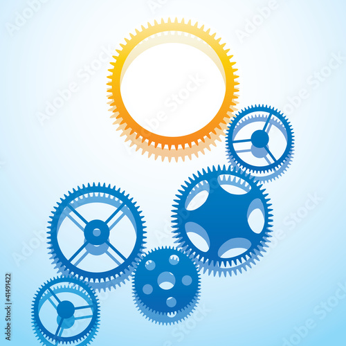 Design with gears.