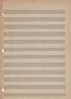Blank vintage sheet music