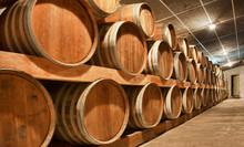 Barriles de madera para vinos