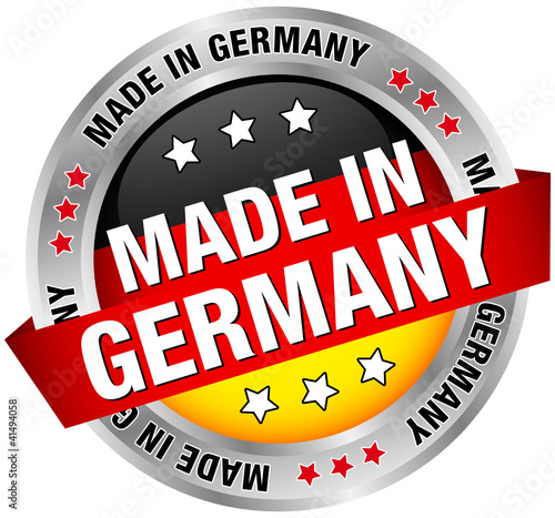 "Button Banner ""Made in Germany"""