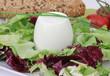 Ziegenkäse mit Salat