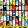 45 business cards