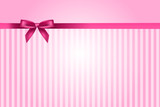 Fototapety Vector pink background with bow