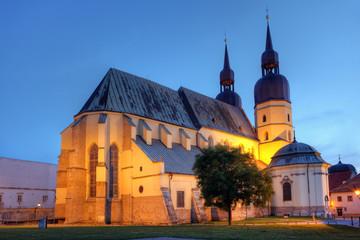 Saint Nicolas church in Trnava, Slovakia - Eastern Europe