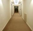 Modern design of a corridor