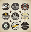Retro Badges and Labels set.