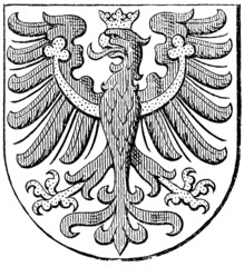Coat of arms of County of Tyrol, (Austro-Hungarian Monarchy)