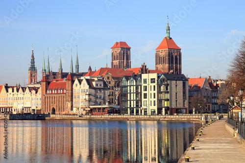 Panorama of Gdansk, Poland. © Nightman1965