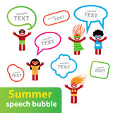 Summer-speech-bubble