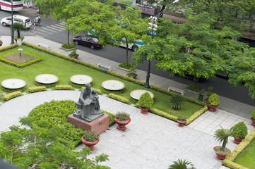Ho Chi Minh Sculpture